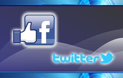 Like Us on Facebook or Twitter